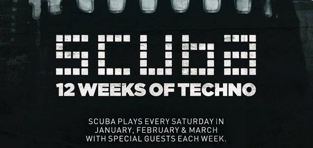 12 semanas de techno con Scuba en XOYO