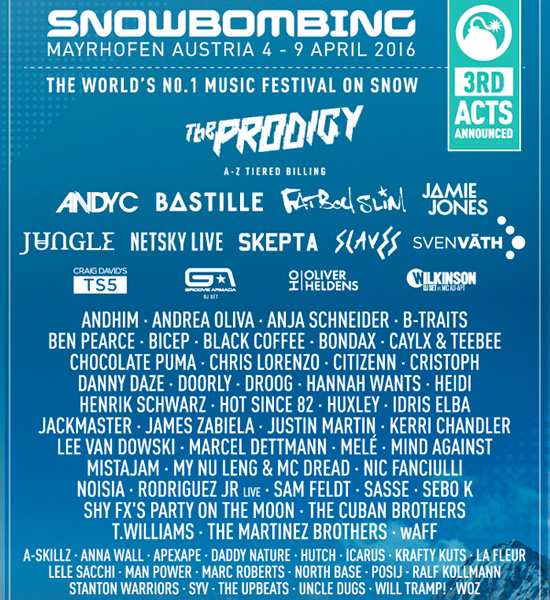 snowbombing-2016-lineup