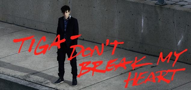"""Tiga lanza nueva canción """"Don't Break My Heart"""""""