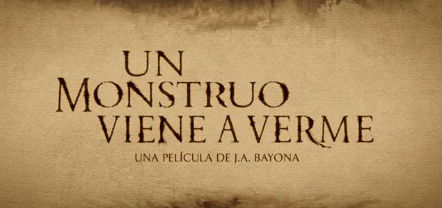 """J.A. Bayona nos muestra el primer tráiler de """"Un monstruo viene a verme"""""""
