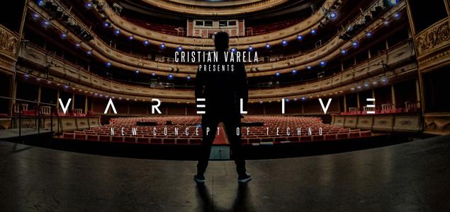 Cristian Varela presenta su nuevo directo: VARELIVE