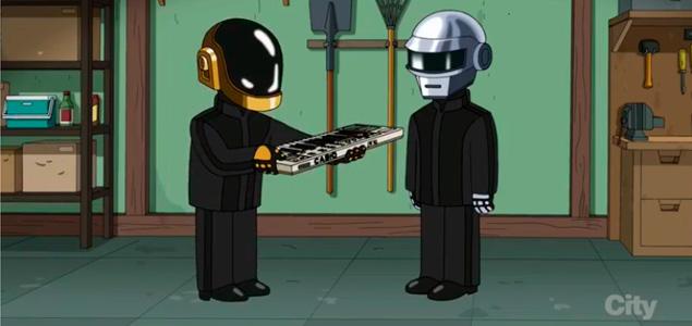 "Daft Punk en ""Padre De Familia"""
