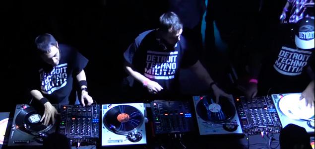 Detroit Techno Militia en Boiler Room – 1 hora, 4 Platos y 50 tracks