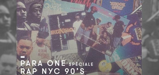 Rap de NYC de los 90 en la nueva sesión de Para One