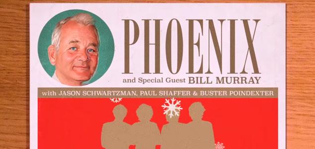Phoenix y Bill Murray nos felicitan la Navidad