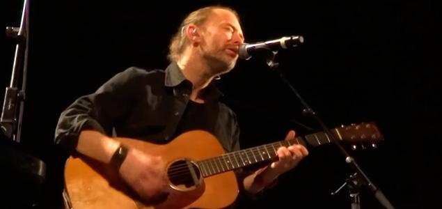 Thom Yorke toca dos canciones nuevas de Radiohead