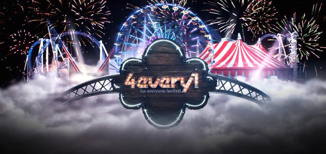 4Every1 Festival 2016 anuncia sus primeros nombres