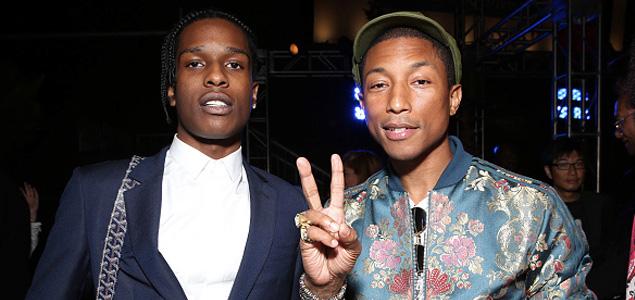 """Nueva canción de A$AP Rocky & Pharrell """"Hear Me"""""""