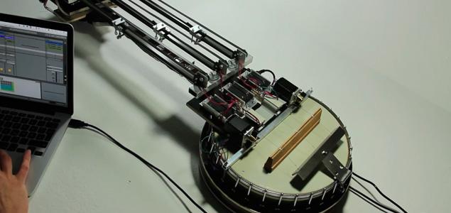 Instrumentos Retro-Futuristas creados por Gamut Inc