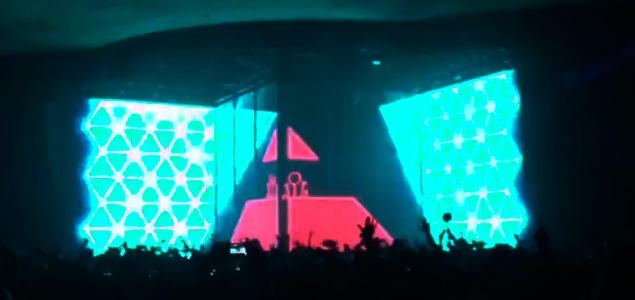 Eric Prydz homenajea a Daft Punk en su nuevo directo