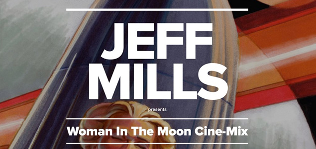 """Jeff Mills interpretará en directo su soundtrack de """"La mujer en la Luna"""""""