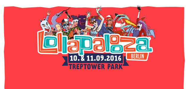 Lollapalooza Berlin 2016 desvela su cartel