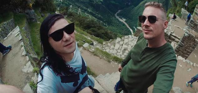"""Skrillex & Diplo lanzan vídeo de """"Mind"""""""