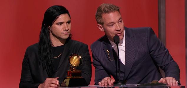 Skrillex, Diplo y Kendrick Lamar triunfan en los Grammy