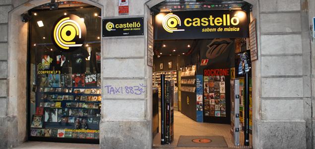 Cierra la mítica Discos Castelló de Barcelona