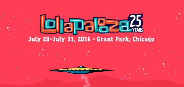 Lollapalooza 2016 desvela el lineup de su 25 aniversario