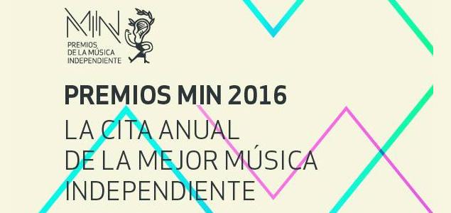 Los Premios MIN de la Música Independiente anuncia sus finalistas