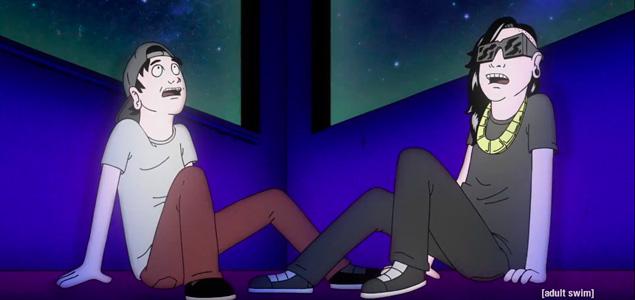 """Skrillex y JAUZ animados en el vídeo de """"Squad Out"""""""