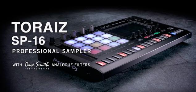 Pioneer DJ presenta junto a Dave Smith: Toraiz SP-16