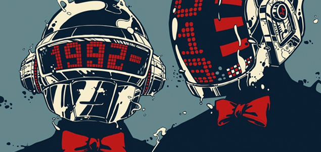 La historia de Daft Punk en una magnífica infografía
