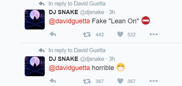 """David Guetta intenta hacer su propio """"Lean On"""" y cabrea a Diplo y DJ Snake"""