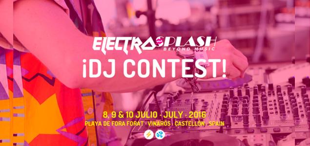 Concurso de DJs de ElectroSplash 2016