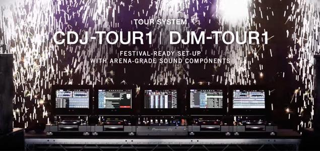 Pioneer DJ Tour, sistema profesional para festivales