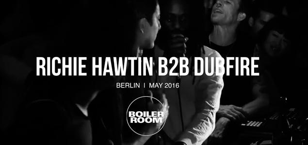 Richie Hawtin b2b Dubfire en Boiler Room presentando Model 1