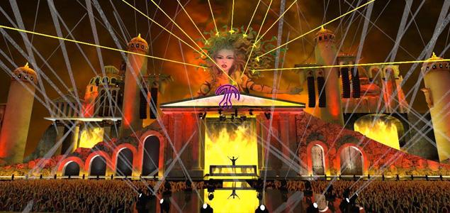 Así es el diseño del Main Stage de Medusa Sunbeach Festival 2016
