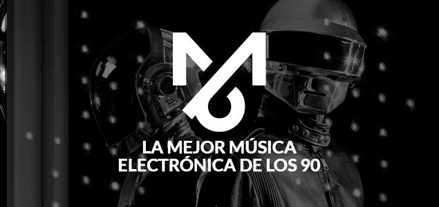 Playlist: La mejor música electrónica de los 90
