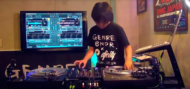 Este DJ de 11 años demuestra su gran talento