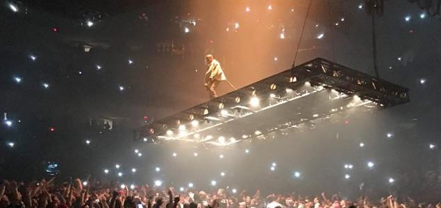 El revolucionario escenario de Kanye West para Saint Pablo Tour
