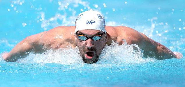 La canción que motiva a Michael Phelps