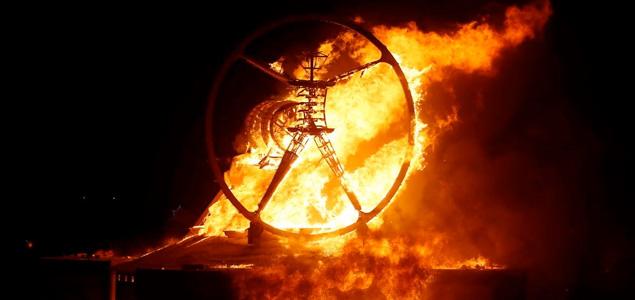 Las mejores imágenes de Burning Man 2016