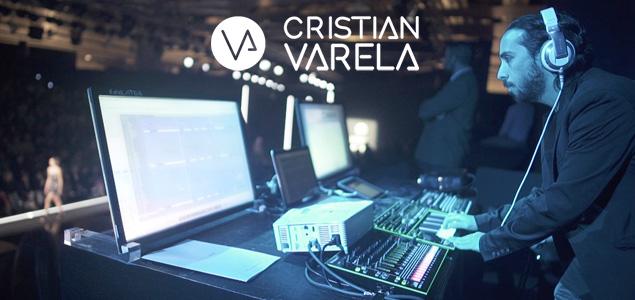 Moda y música electrónica de la mano de Cristian Varela