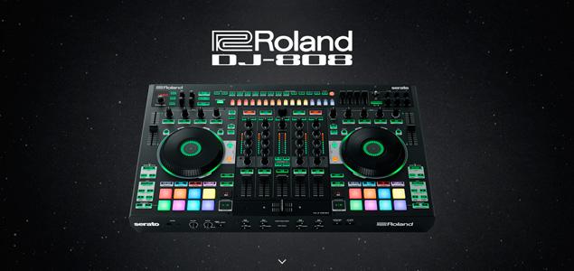 Serato DJ y Roland presetan el controlador DJ-808