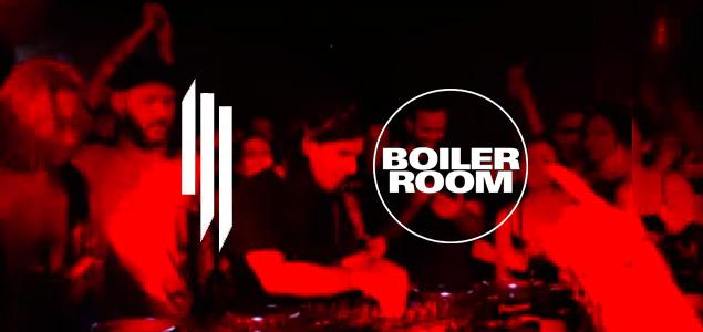 Así fue el debut de Skrillex en Boiler Room