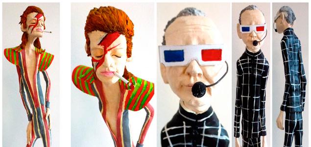 Magníficas estatuillas de Kraftwerk, David Bowie y Paul Kalkbrenner