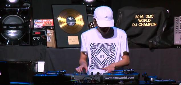 Rutina con la que DJ Yuto se proclamó mejor DJ del mundo en 2016