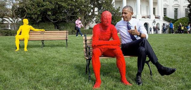 Así fue el festival de Obama en la Casa Blanca