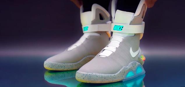 """Nike lanza una edición limitada de las Nike MAG de """"Regreso Al Futuro"""""""
