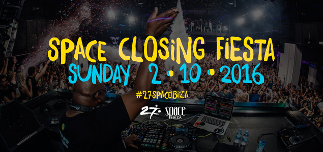 Space Ibiza Closing Party 2016 Live Stream