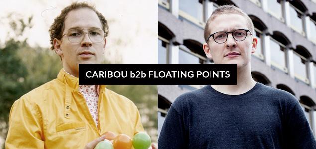 Caribou y Floating Points nos deleitan con una nueva sesión juntos