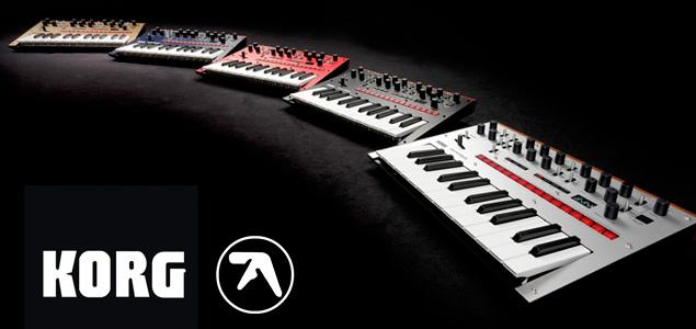 Aphex Twin colabora con Korg en el sintetizador Monologue