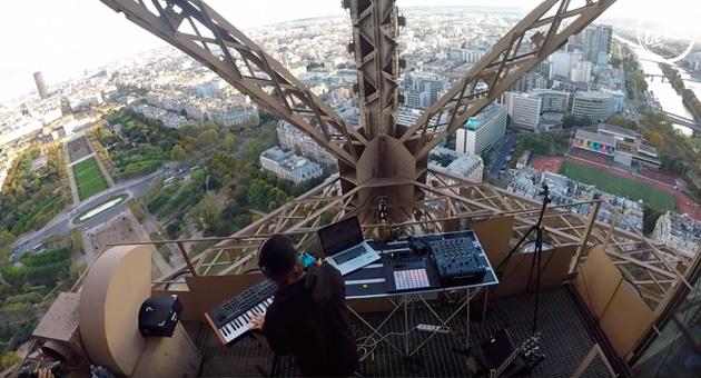 Electrónica en directo desde la Torre Eiffel