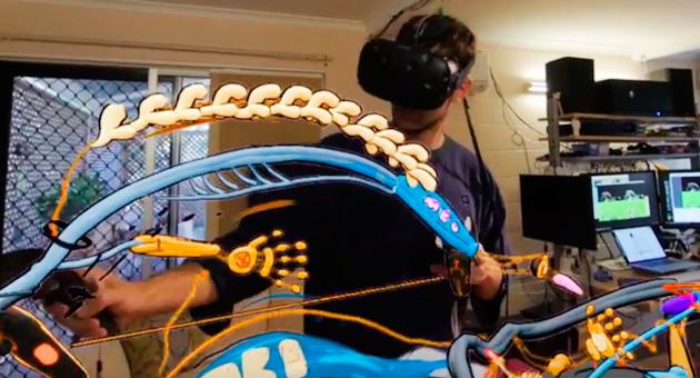 Creando arte en Realidad Virtual