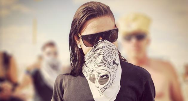 Skrillex comparte su sesión en Burning Man 2016