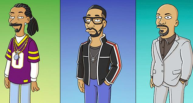 Snoop Dogg, RZA y Common en el especial de 1 hora de Los Simpsons