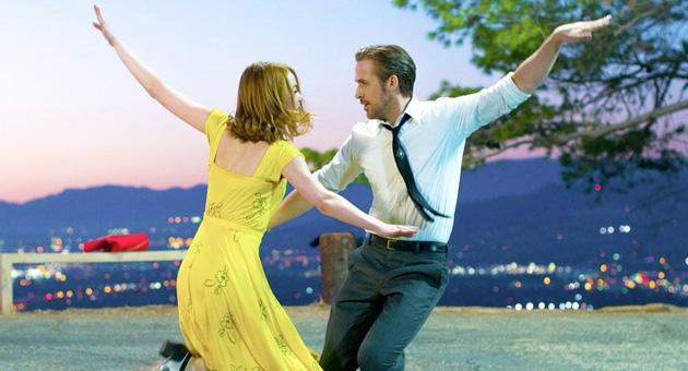 La La Land favorita para los Oscars con 14 nominaciones