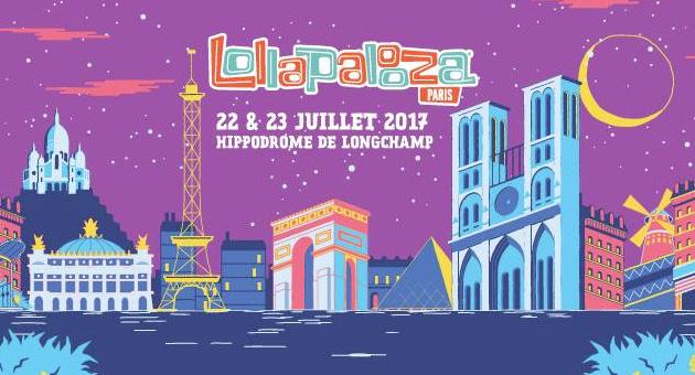 Lollapalooza París 2017 desvela su cartel completo